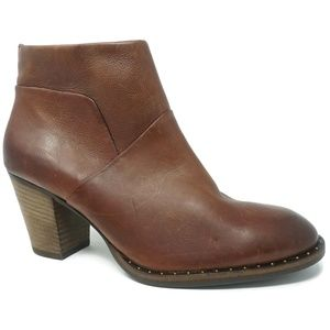 Paul Green Nelly Booties Brown Sz 9.5 US 7 UK